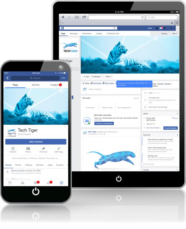 TechTiger: Social Media Marketing Perth